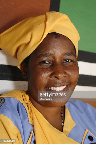 pedi woman of south africa - limpopo province stock pictures, royalty-free photos & images