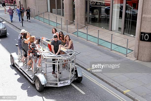pedibus - human powered vehicle stock photos and pictures