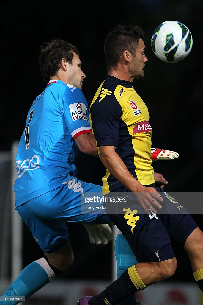 A-League Rd 27 - Central Coast v Melbourne