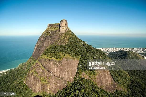 pedra da gávea - gneiss stock pictures, royalty-free photos & images