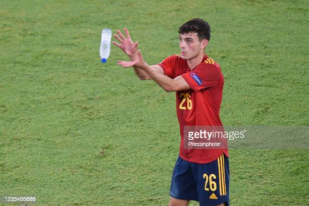 Pedri Gonzalez of Spain during the match between Spain and Sweden of Euro 2020, group E, matchday 1, played at La Cartuja Stadium on June 14, 2021 in...