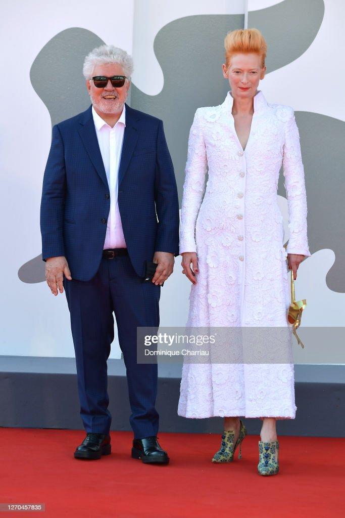 """""""The Human Voice"""" Red Carpet - The 77th Venice Film Festival : Photo d'actualité"""
