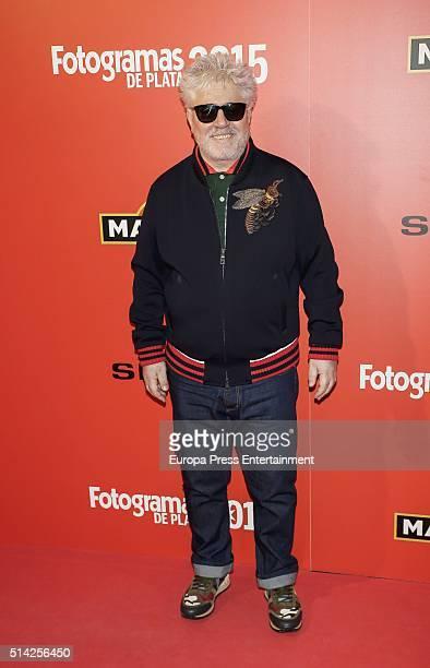 Pedro Almodovar attends Fotogramas Awards on March 7 2016 in Madrid Spain