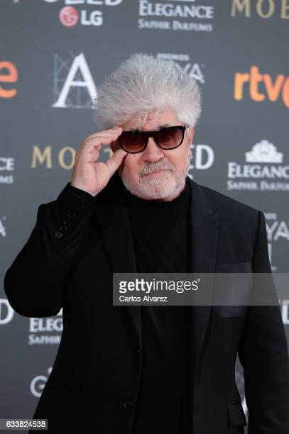 Pedro Almodovar attends Goya Cinema Awards 2017 at Madrid Marriott Auditorium on February 4 2017 in Madrid Spain