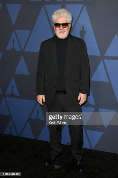 Pedro Almodovar attends the Academy Of Motion Picture Arts And Sciences' 11th Annual Governors Awards at The Ray Dolby Ballroom at Hollywood Highland...