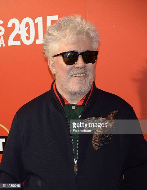 Pedro Almodovar attends the Fotogramas Awards at Joy Eslava Club on March 7 2016 in Madrid Spain