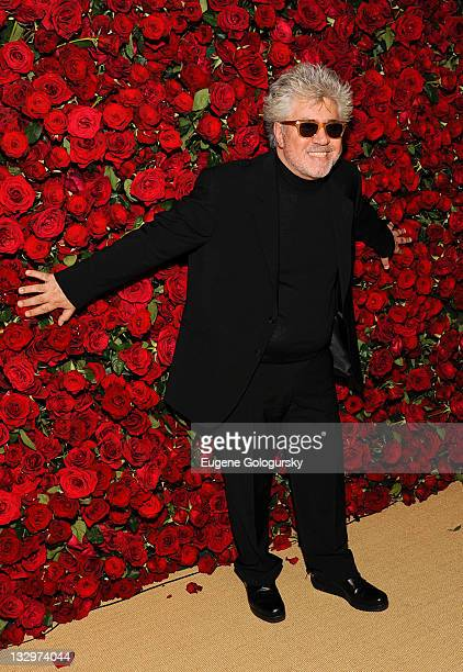 Pedro Almodovar attends the Museum of Modern Art's 4th Annual Film benefit 'A Tribute to Pedro Almodovar' at the Museum of Modern Art on November 15...