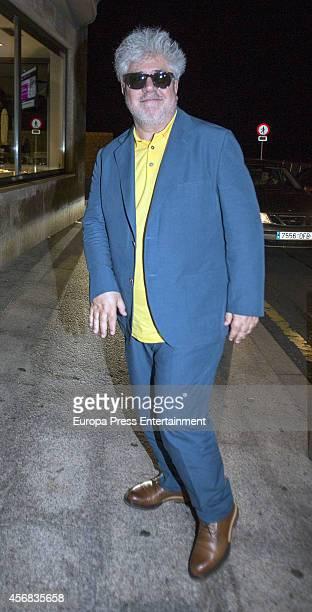 Pedro Almodovar celebrates his 65th birthday on September 25 2014 in San Sebastian Spain