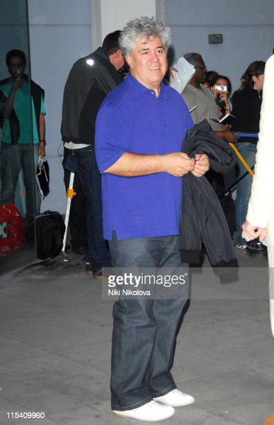 Pedro Almodovar during Volver Photo Call at The National Film Theatre August 4 2006 in london United Kingdom