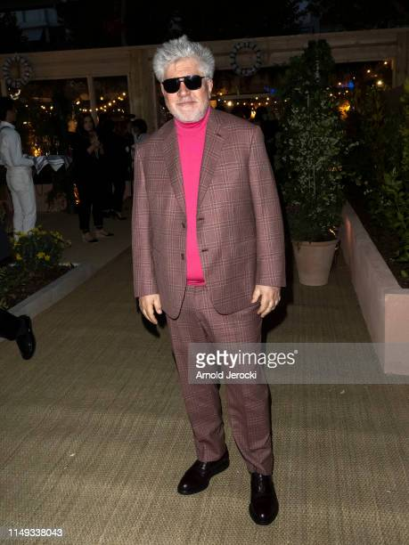 Pedro Almodovar is seen at the Dior Dinner during the 72nd annual Cannes Film Festival on May 15 2019 in Cannes France