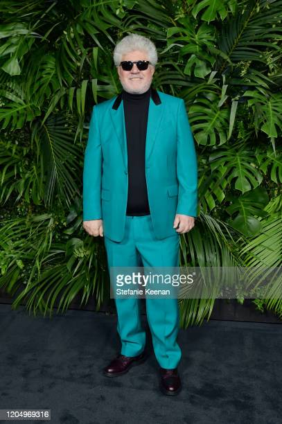 Pedro Almodóvar attends CHANEL and Charles Finch PreOscar Awards Dinner at Polo Lounge at The Beverly Hills Hotel on February 08 2020 in Beverly...