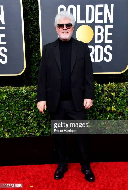 Pedro Almodóvar attends the 77th Annual Golden Globe Awards at The Beverly Hilton Hotel on January 05, 2020 in Beverly Hills, California.
