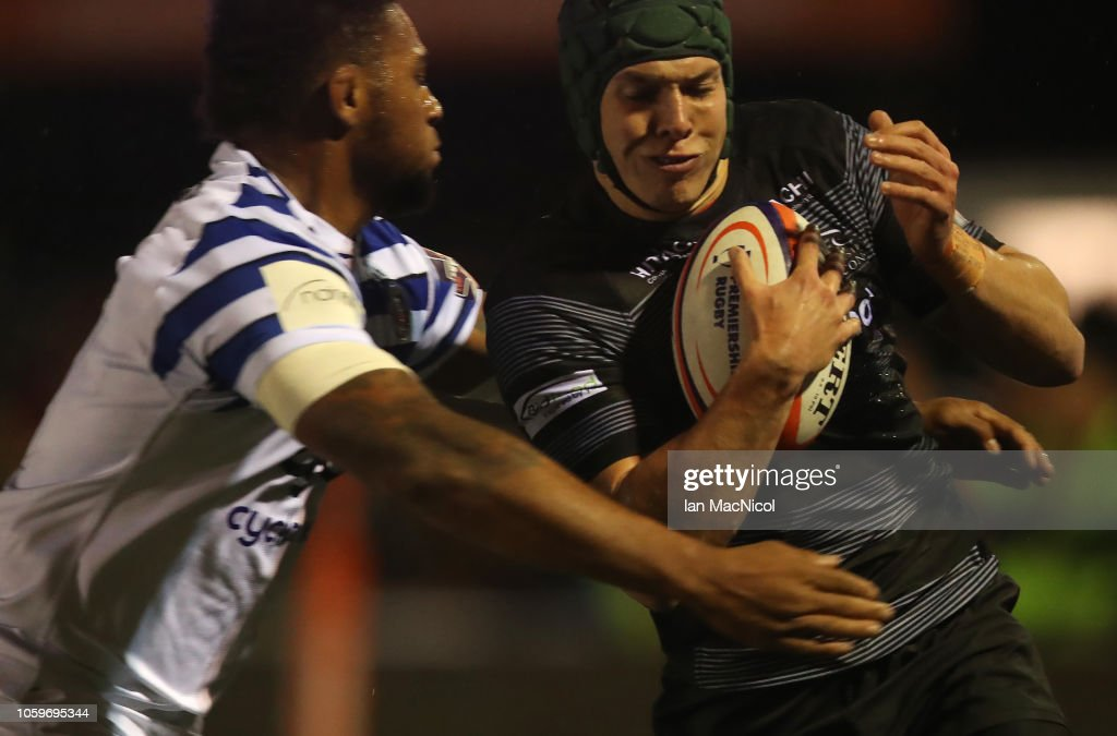Newcastle Falcons v Bath Rugby - Premiership Rugby Cup : News Photo
