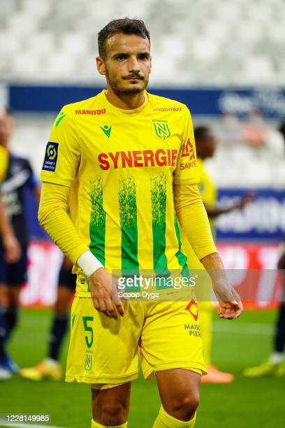 Pedro CHIRIVELLA of FC Nantes during the Ligue 1 match between Bordeaux and Nantes on August 21, 2020 in Bordeaux, France.