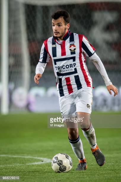 Pedro Chirivella of Willem II during the Dutch Eredivisie match between FC Twente Enschede and Willem II Tilburg at the Grolsch Veste on March 17...