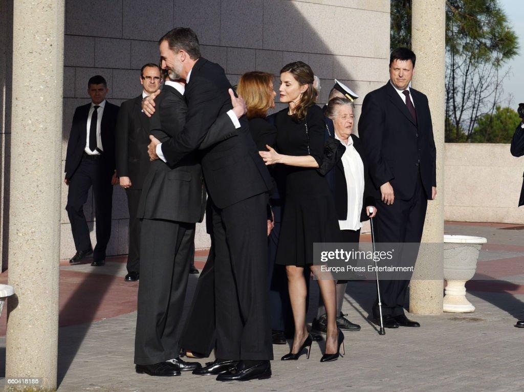 Alicia de Borbon Parma Funeral Chapel in Madrid : News Photo