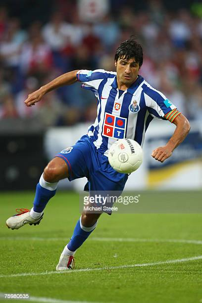 Pedro Emanuel of Porto during the Port of Rotterdam Tournament match between Feyenoord and FC Porto at the De Kuip Stadium on August 32007 in...