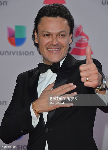 Pedro Fernandez attends the 16th Latin GRAMMY Awards at the MGM Grand Garden Arena on November 19 2015 in Las Vegas Nevada