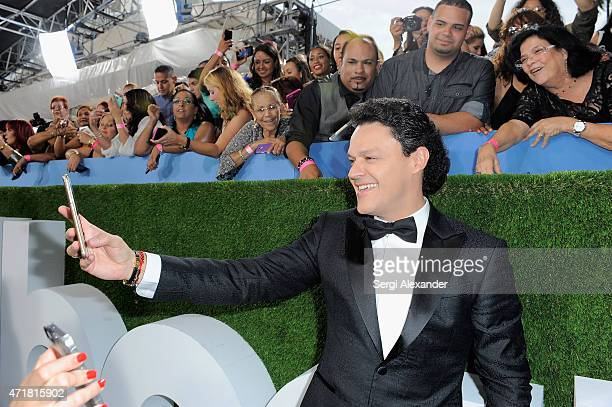 Pedro Fernandez attends the 2015 Billboard Latin Music Awards Premios Billboard at BankUnited Center on April 30 2015 in Miami Florida