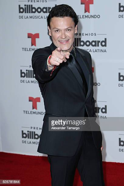 Pedro Fernandez attends the Billboard Latin Music Awards at Bank United Center on April 28 2016 in Miami Florida