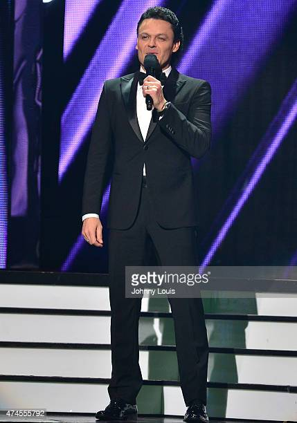 Pedro Fernandez onstage at the 2015 Billboard Latin Music Awards presented by State Farm on Telemundo at Bank United Center on April 30 2015 in Miami...