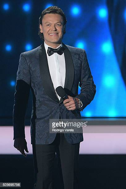 Pedro Fernandezper onstage at the Billboard Latin Music Awards at Bank United Center on April 28 2016 in Miami Florida