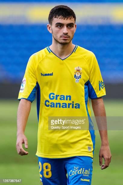 Pedro Gonzalez Lopez 'Pedri' of UD Las Palmas looks on during the La Liga Smartbank match between UD Las Palmas and Extremadura UD at Estadio Gran...