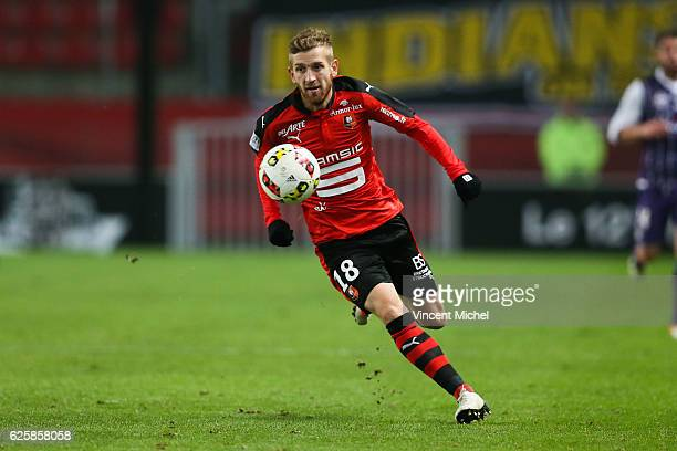 Pedro Henrique of Rennes during the French Ligue 1 match between Rennes and Toulouse at Roazhon Park on November 25, 2016 in Rennes, France.