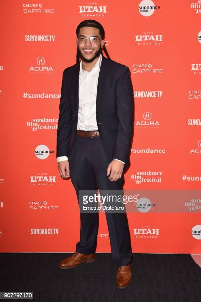 Pedro Hernandez attends the 'Crime And Punishment' Premiere during the 2018 Sundance Film Festival at The Ray on January 19 2018 in Park City Utah