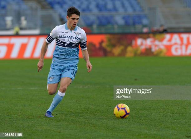 Pedro Lomba Neto during the Italian Cup football match between SS Lazio and Novara at the Olympic Stadium in Rome on January 12 2019