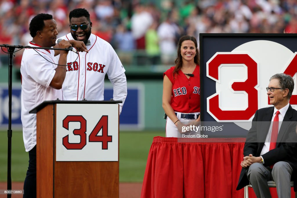 Red Sox Retire David Ortiz's Number