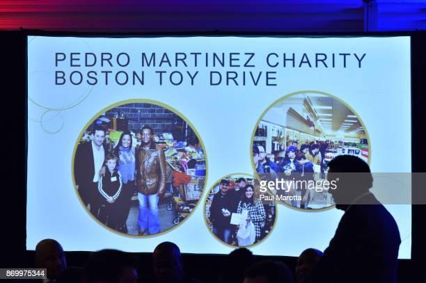 Pedro Martinez attends the 2nd Annual Pedro Martinez Charity Gala at The Colonnade Boston Hotel on November 3 2017 in Boston Massachusetts