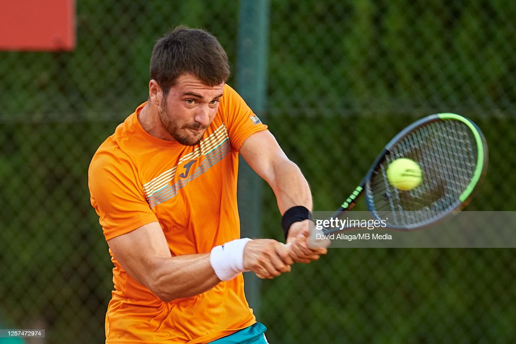 La Liga MAPFRE de Tenis - Day Two : News Photo