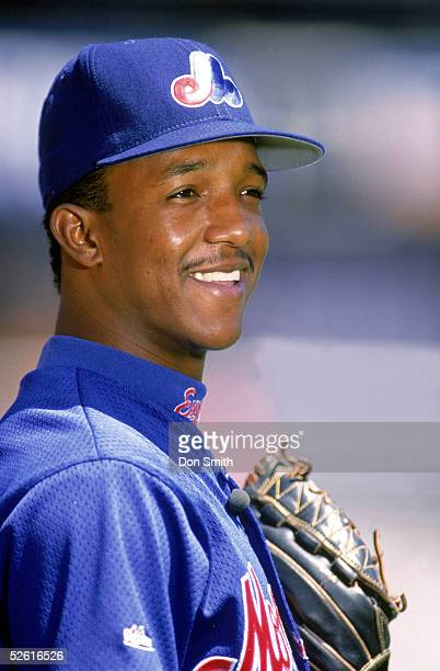 Pedro Martinez of the Montreal Expos poses for a season portrait Pedro Martinez played for the Montreal Expos from 19941997