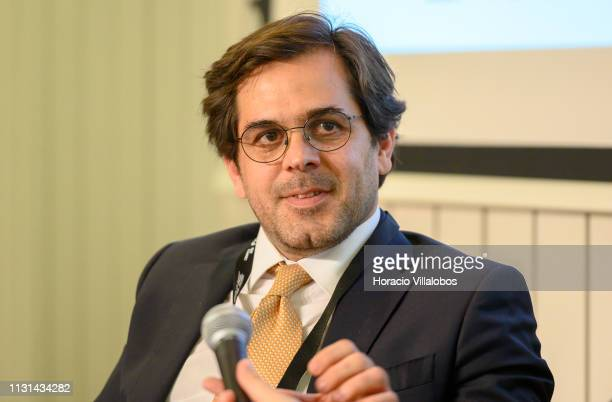 Pedro Matos Pinho Executive Board Member at Tecnoplano SA participates in a discussion panel at 'Open Days PME Connect' business networking event for...