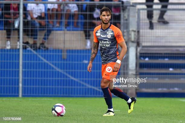 Pedro Mendes of Montpellier during Ligue 1 match between Montpellier and Saint Etienne on August 25 2018 in Montpellier France