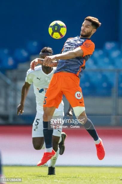 Pedro Mendes of Montpellier in action during the Montpellier Vs SC Amiens French Ligue 1 regular season match at Stade de la Mosson on May 5th 2019...
