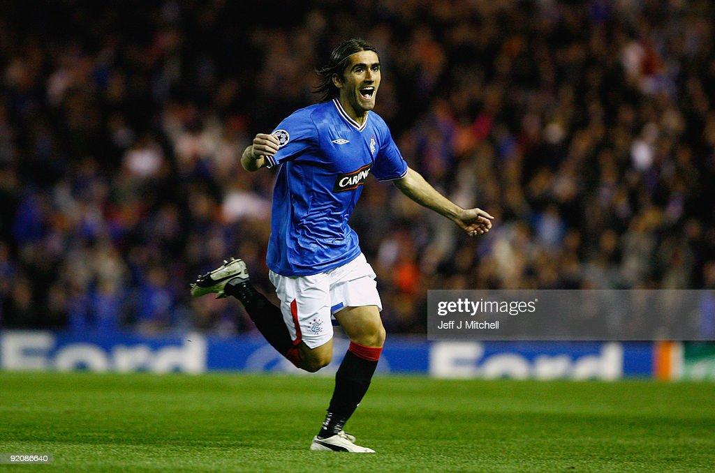 Rangers v Unirea Urziceni - UEFA Champions League : News Photo