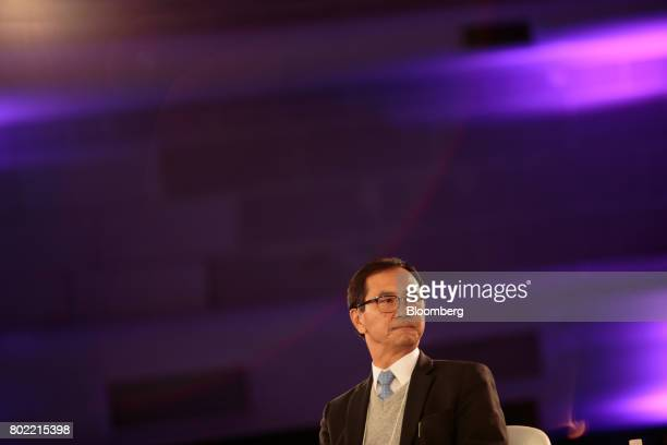 Pedro Mizutani chairman of UNICA listens during the UNICA Ethanol Summit 2017 in Sao Paulo Brazil on Tuesday June 27 2017 The Ethanol Summit brings...