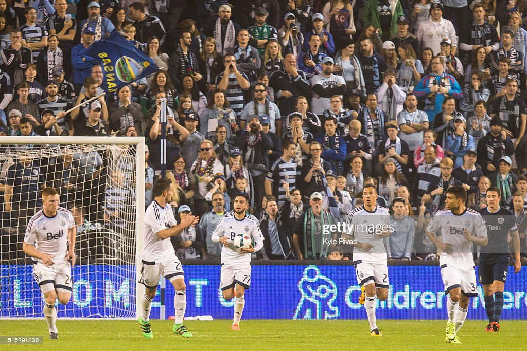 Vancouver Whitecaps v Sporting Kansas City : News Photo