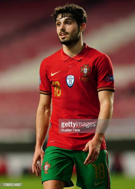 Pedro Neto of Portugal and Wolverhampton during the International Friendly match between Portugal and Andorra at Estadio da Luz on November 11, 2020...