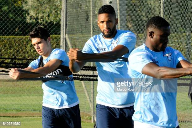 Pedro Neto of SS Lazio during the SS Lazio training session on September 5 2017 in Rome Italy