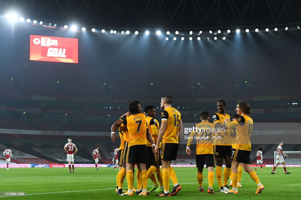 Arsenal v Wolverhampton Wanderers - Premier League : News Photo
