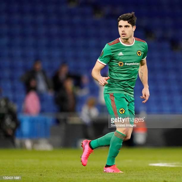 Pedro Neto of Wolverhampton Wanderers during the UEFA Europa League match between Espanyol v Wolverhampton Wanderers at the RCDE Stadium on February...