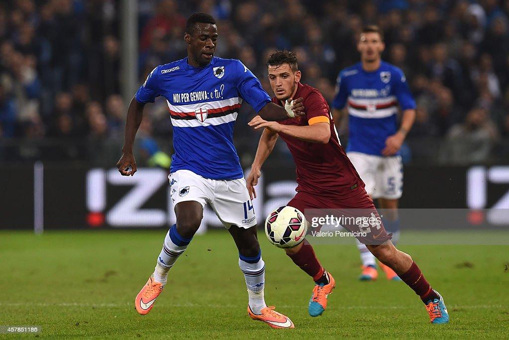 UC Sampdoria v AS Roma - Serie A : News Photo