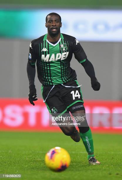 Pedro Obiang of US Sassuolo in action during the Serie A match between US Sassuolo and Torino FC at Mapei Stadium - Città del Tricolore on January...