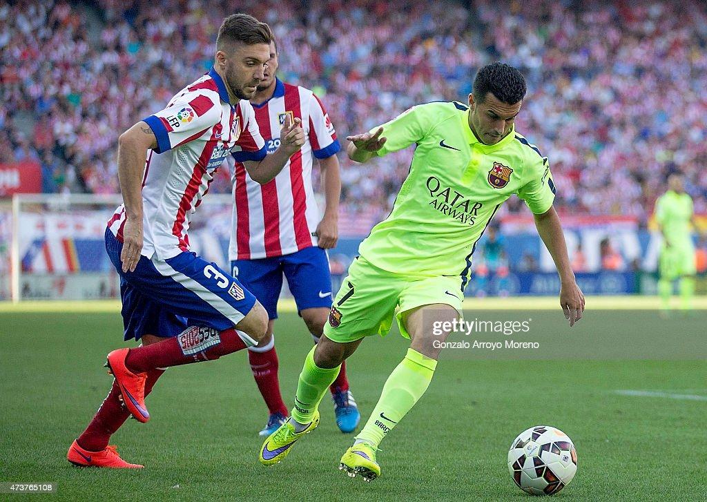 Club Atletico de Madrid v FC Barcelona - La Liga : News Photo