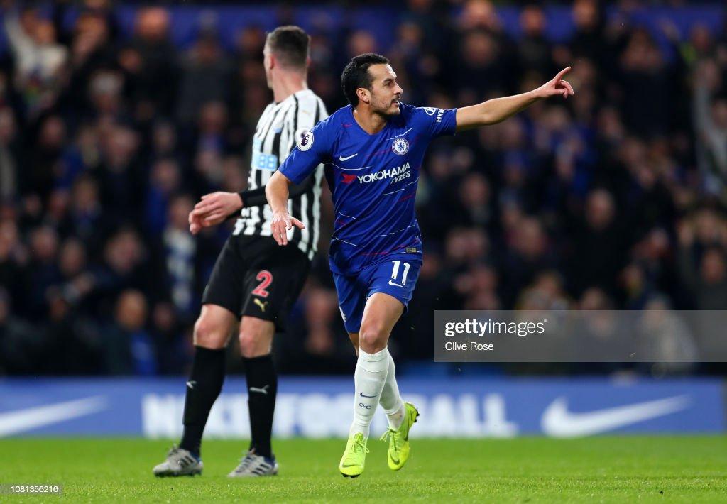 Chelsea FC v Newcastle United - Premier League : News Photo