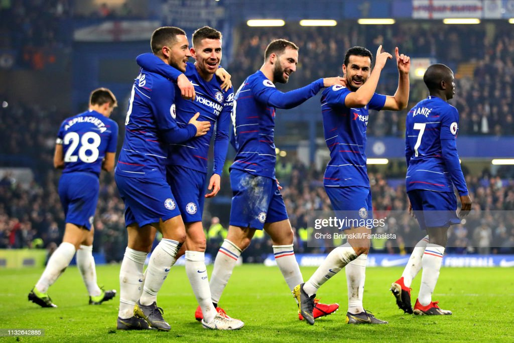 Chelsea FC v Tottenham Hotspur - Premier League : News Photo