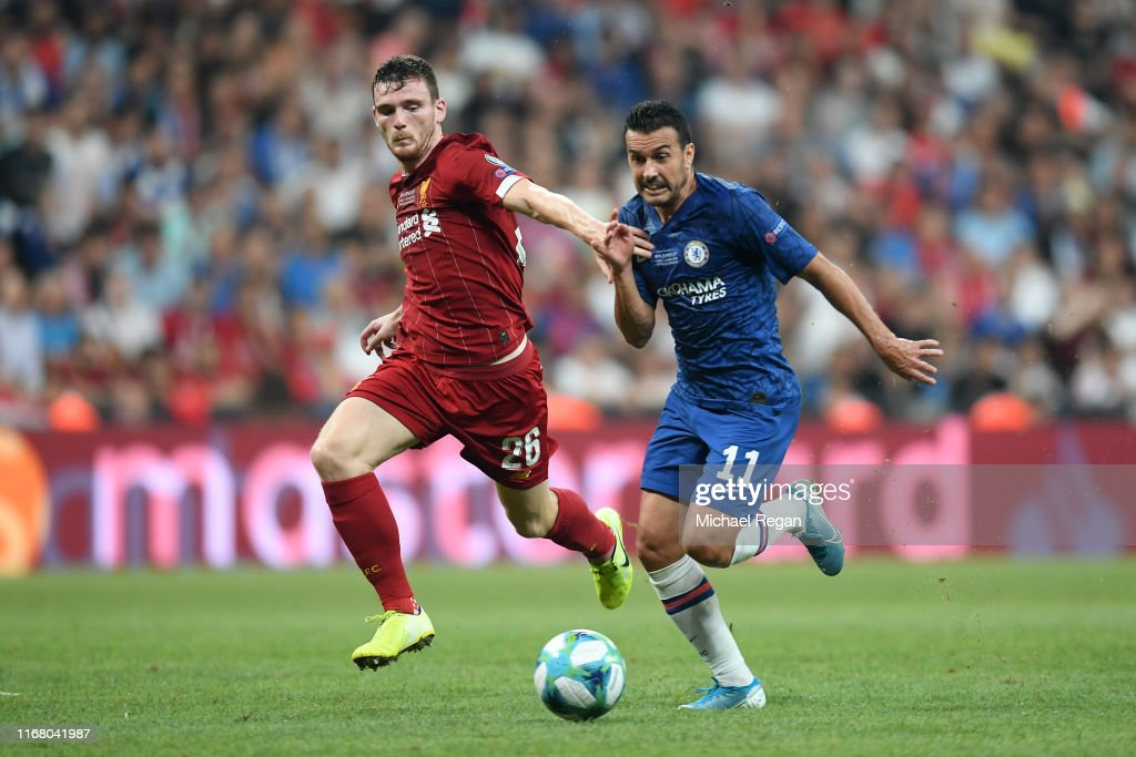 Liverpool v Chelsea: UEFA Super Cup : News Photo